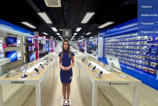 Prva hrvatska virtualna trgovina elektronike u 360 VR formatu :)